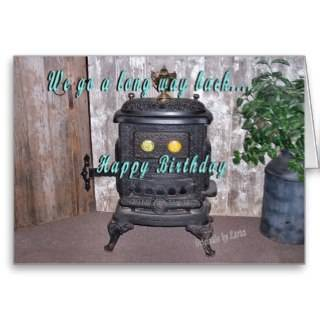 antique parlor stoves popular for decor now instead of use this card