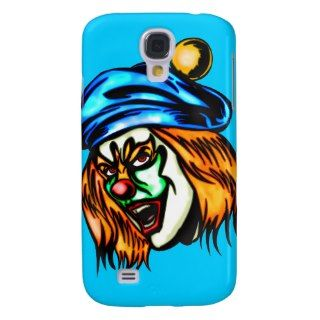 Mean Evil Clown Galaxy S4 Case