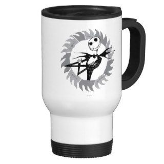 Jack Skellington Saw Blade Mug