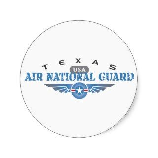 Texas Air National Guard Sticker