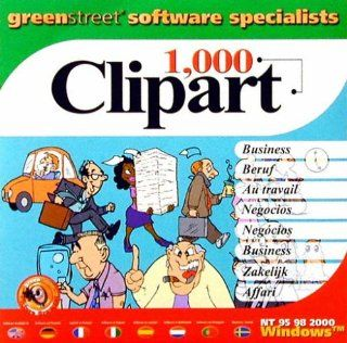 1000 Clipart Business Sampler: Software