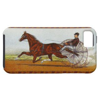 Vintage Sulky Horse Racing iPhone 5 Covers