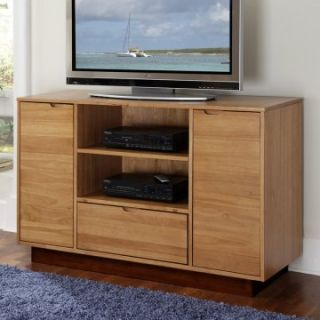 Home Styles Nova Entertainment Credenza   Teak Finish   TV Stands at