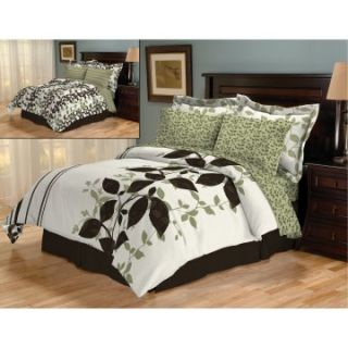 Sanders Aneta 8 pc. Turnstyle Bed in a Bag   Bedding Sets