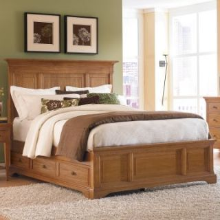 Ashby Park Panel Storage Platform Bed   Storage Beds