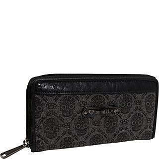 Loungefly Wallpaper Skull Denim Wallet