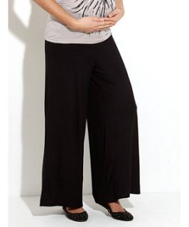 Black (Black) Heavenly Bump Palazzo Trousers  242953501