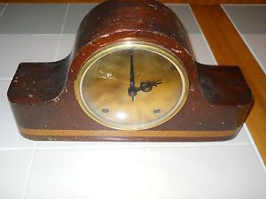 Antique Seth Thomas Wooden Mantle 8 Day Clock with A200 Movements and Pendulum