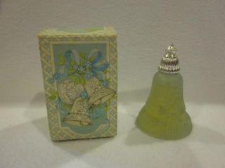 Vintage Avon Joyous Bell Perfume Bottles w Box
