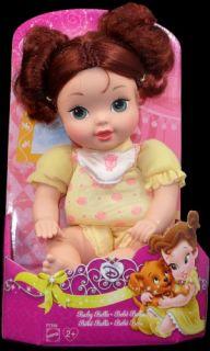New Disney Princess Baby Belle Plush Doll Toy Beauty