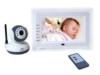 """7"""" LCD Baby Security Wireless Monitor U s Power Seller"""