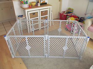 Nice Pre Owned Superyard XT 6 Panel Play Yard Pen Gate Baby Pet Dog North State