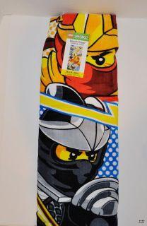 New Lego Ninjago Beach Bath Pool Towel