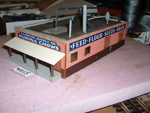 Suydam HO Scale Kit Bashed Farmers Supply Co Building Purina Chows Great Cond