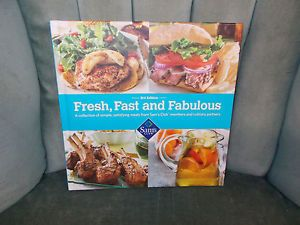 Fresh Fast and Fabulous 2013 Cookbook 3rd Edition Recipes Sams Club Wal Mart