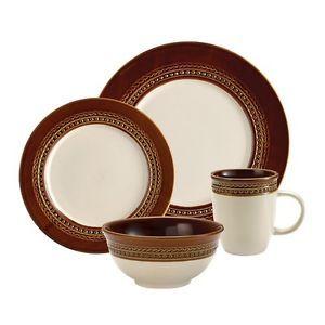 Paula Deen Southern Charm 16 Piece Dinnerware Set
