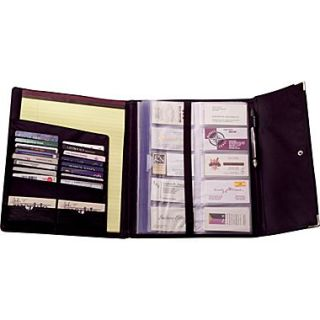 Rolodex stitched faux leather business card book holder black rolodex 240 card black faux leather business card book colourmoves