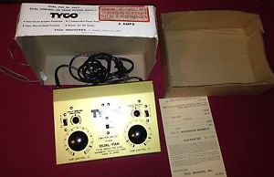 Tyco Electric Trains Dual Control HO Train Power Supply Hobby Transformer 898T