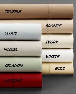 Hotel Collection 600 Thread Count Egyptian Cotton Queen Sheet Set Lacquer