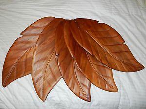 """Hampton Bay Ceiling Fan """"Palm Leaf"""" Blades"""
