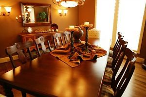 Ethan Allen British Classics Dining Table and Chairs