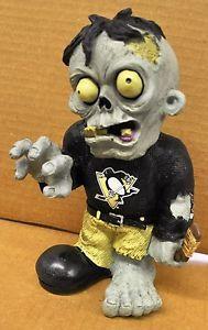Pittsburgh Penguins Zombie Decorative Garden Gnome Figure Statue New NHL