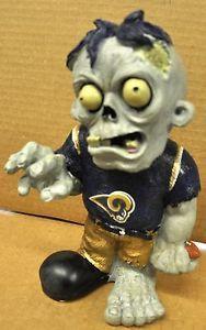 St Louis Rams Zombie Decorative Garden Gnome Figure Statue New NFL