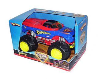 Hot Wheels Monster Jam Superman 1 24 Diecast Truck