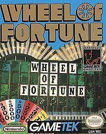 Wheel of Fortune Nintendo Game Boy, 1990
