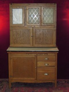 Antique Hoosier Cabinet Made by Ideal Furniture Company Vincennes Indiana