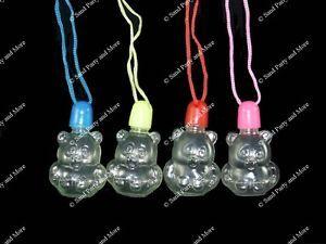 12 Bear Sand Art Necklace Craft Supplies Bottles