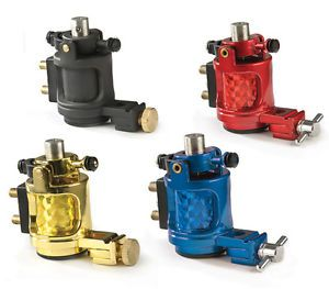 Jackhammer Rotary Tattoo Machine Supply Electric Motor Available in 4 Colors