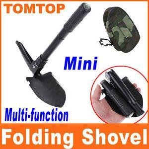 Survival Folding Shovel Spade Emergency Garden Camping Hiking Outdoor Tool