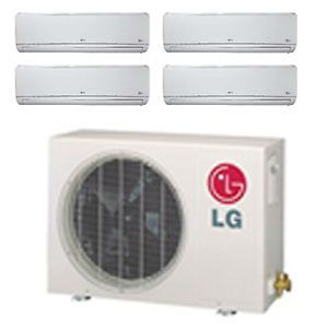 LG 36 000 BTU Quad Zone Mini Split Heat Pump and Air Conditioner LMU369HV