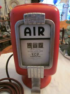 Original Eco Air Meter Model 97 Air Pump for Vintage Gas Station