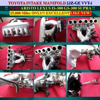 2jz GE N A Intake Manifold Sensors Supra Is 300 GS 300 SC 300 Toyota Lexus