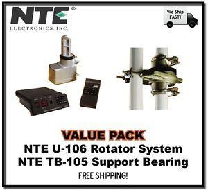 Value NTE U 106 Antenna Rotor Remote Control Box and TB 105 Support