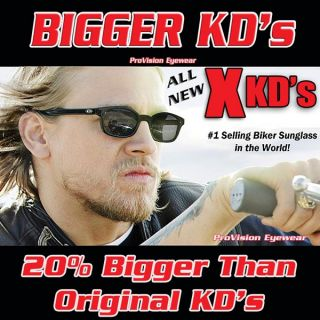New JAX Teller Sons of Anarchy SAMCRO Bigger x KD's Biker Glasses Sunglasses