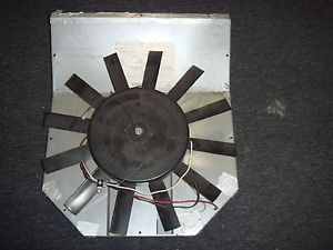 Coleman Air Conditioner Model 9022B876 Motor w Fan Blades Motor 7124 2207