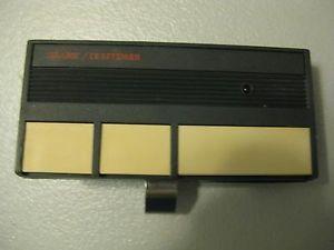 Craftsman 139 53778 Remote Control Garage Door Opener with Clip Manual