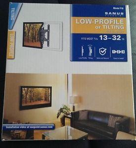 "Sanus Vuepoint F18 Tilting TV Wall Mount LCD LED Flat Screen Monitor 13 32"""