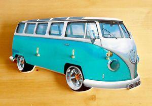 VW camper Van Key Rack Holder Split Screen VW Beetle 60s Bug Surfs Up