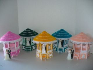 Wedding Cake Topper Gazebo Plastic Canvas Doll House Gazebo Choose One