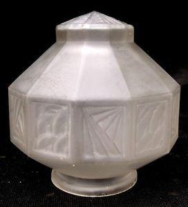 Stylish French Art Deco Glass Lamp Shade Lampshade