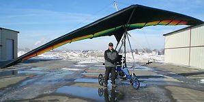 Jetwing Ultralight Trike Powered Hang Glider or Weight Shift Control