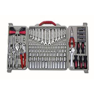 Crescent Assorted 170 Piece Mechanics Home Repair Hand Tool Tools Kit Set New