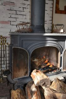 Vermont Castings Original Defiant Cast Iron Wood Burning Stove 60 000 BTU Cheap