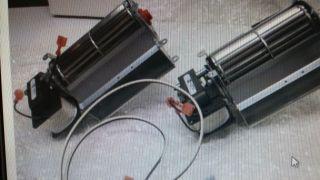 Mossesom Hearth Fireplace Stove Fan Blower Model Blotbldvsc