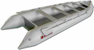 16ft Saturn Inflatable Crossover Kayak Boat Kaboat SK487XL Black Color Only 2012