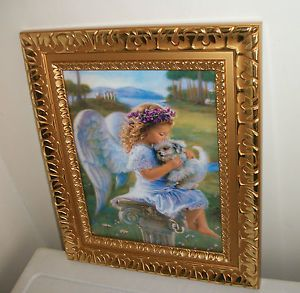 nice the guardian angel picture home interior decor